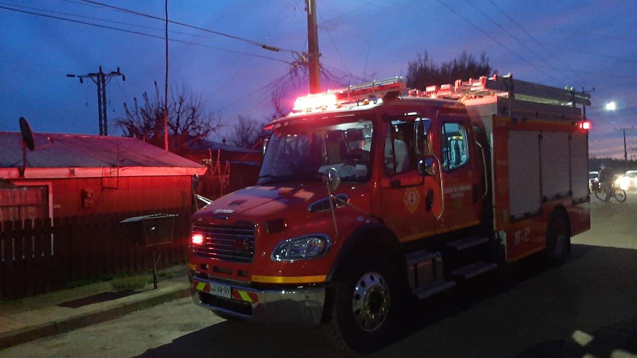 Principio de incendio afectó una vivienda en la avenida Luis Everhard